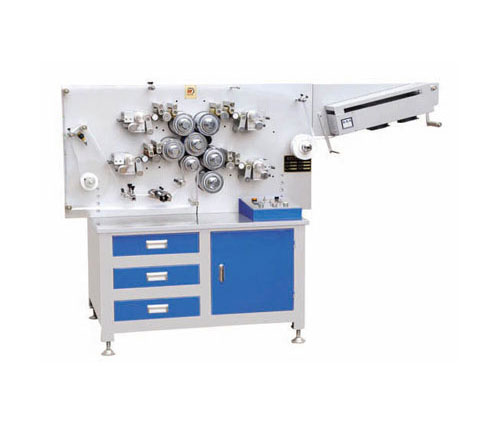MHL-1004S-MHL-1004S 4-color Double-side High-speed Rotary Label Printing Machine