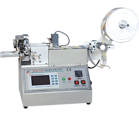 MHQ-100A- Micro-computer Automatic Label Cutting Machine (cold and hot)